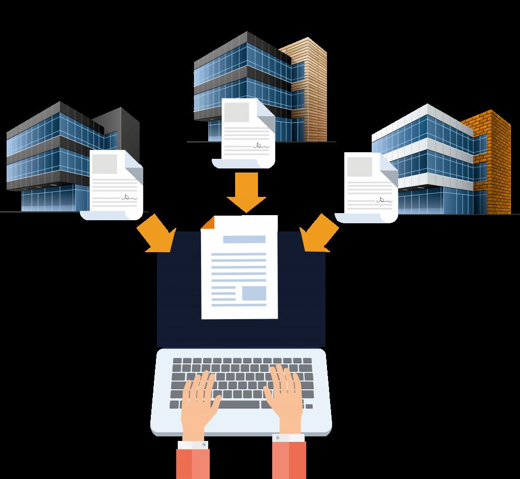 Recepción de documentos relacionados